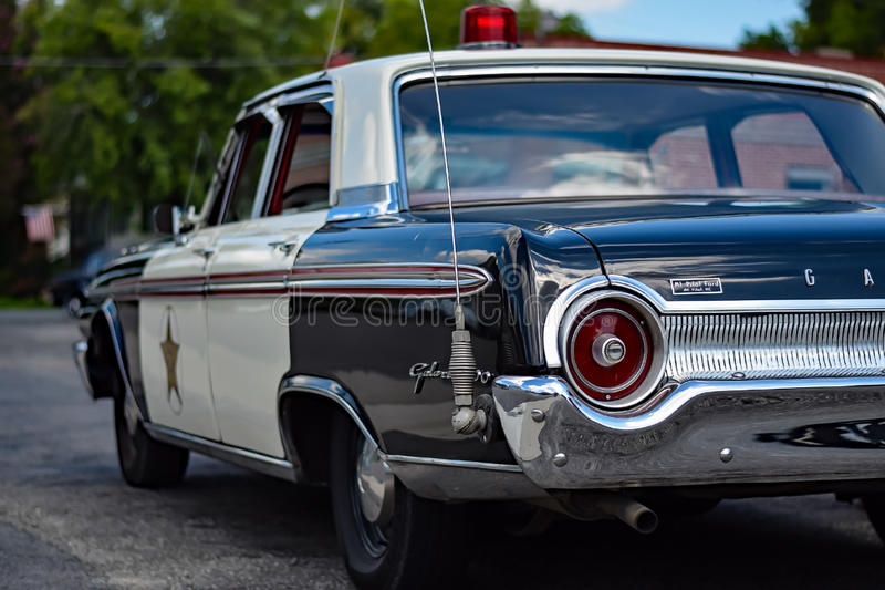 Mayberry Patrol Car royalty free stock photos