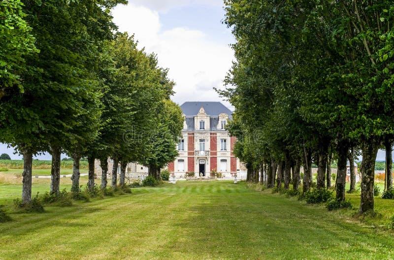 Mayenne - château images stock