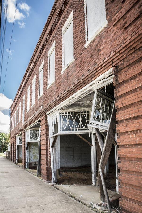 Mayesville, Streetscape de Sc photographie stock