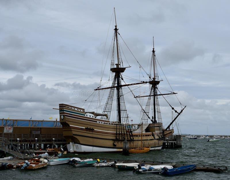 Mayflower II royalty free stock photos