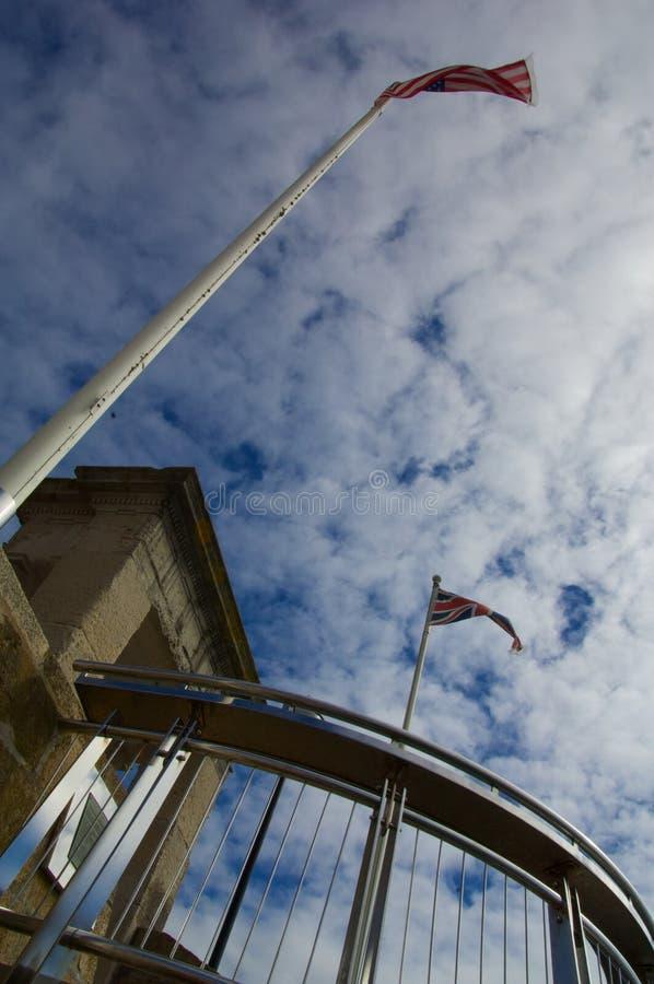 Mayflower steps stock images