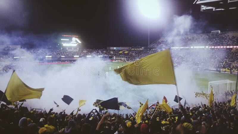 Mayhem At A Football Match Free Public Domain Cc0 Image