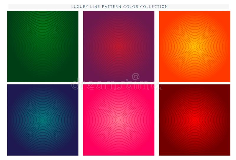Minimal covers design. Colorful halftone gradients. Future geometric patterns. Eps10 vector. royalty free illustration