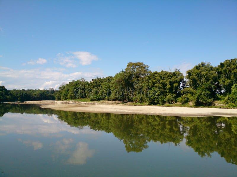 Maykha brzeg rzeki zdjęcie stock