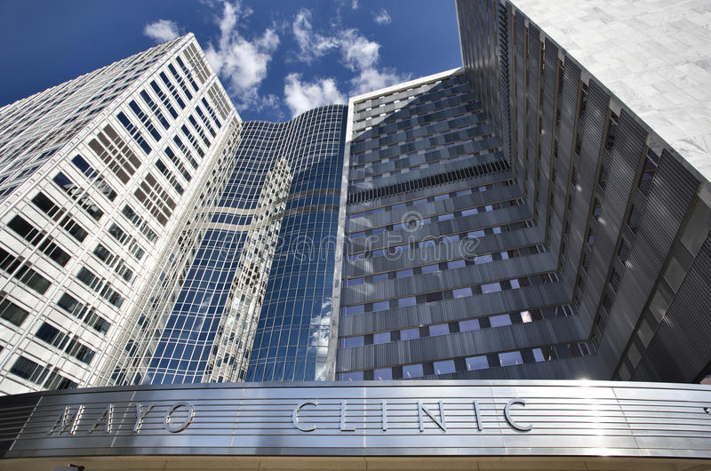 Mayo Clinic. Rochester Minnesota Hospital World Famous royalty free stock images