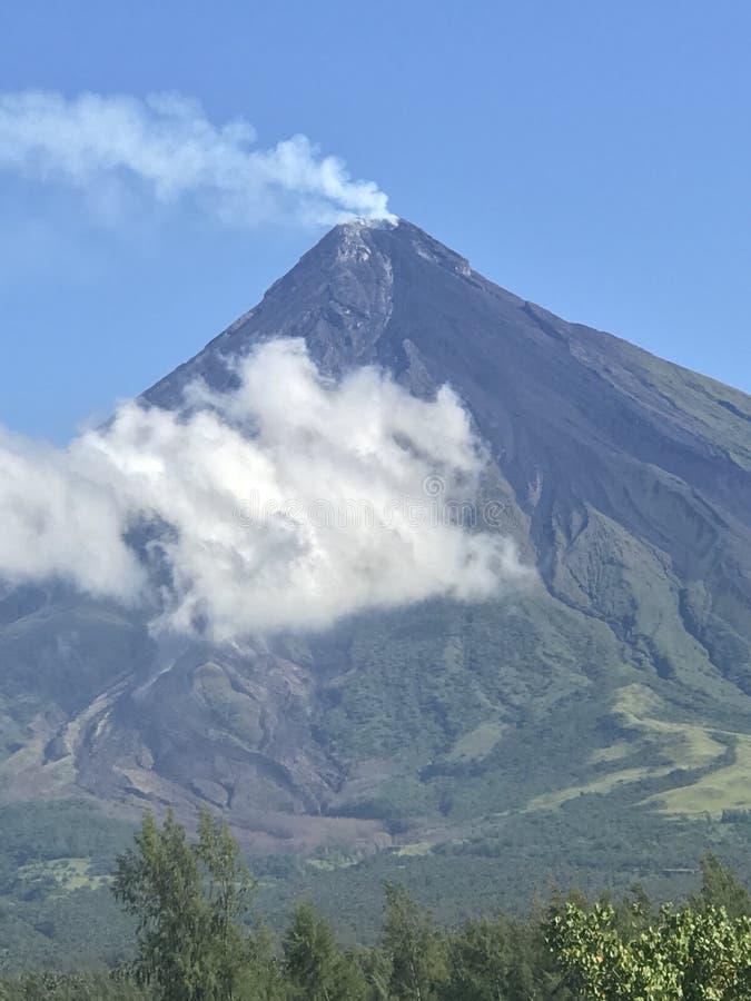 Mayon火山 库存图片