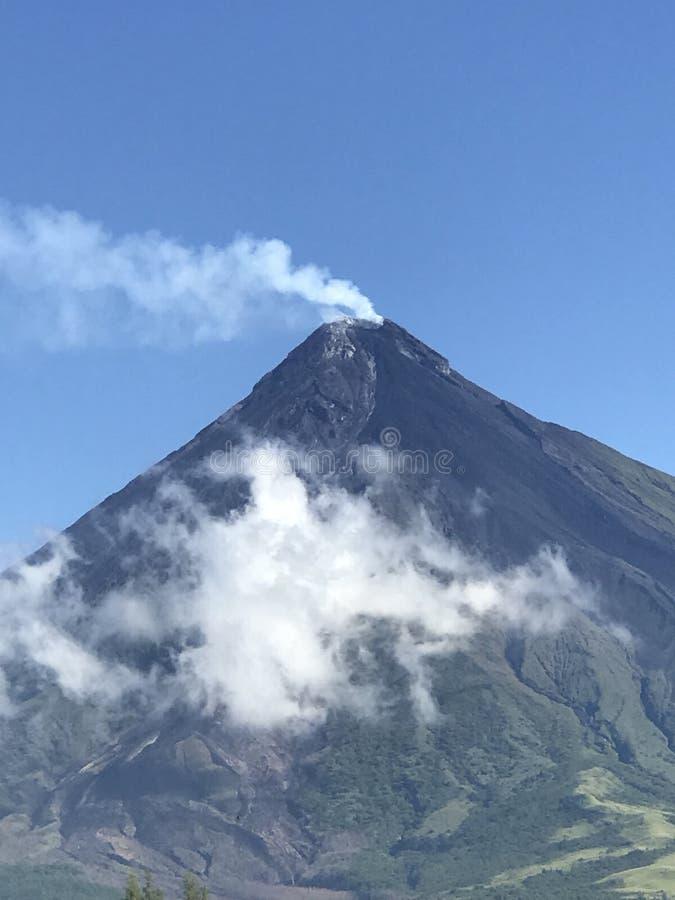 Mayon火山 免版税库存照片