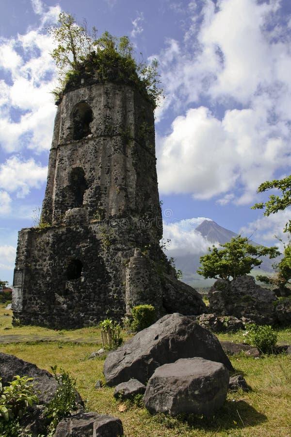 Mayon di Mt fotografia stock libera da diritti