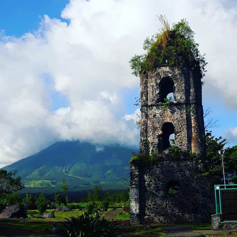 Mayon Volcano royalty free stock photo