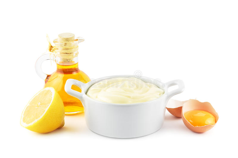 Mayonaise stock afbeelding