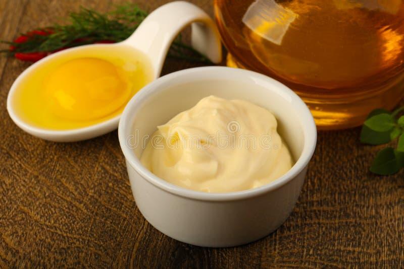 Mayonnaise stock image