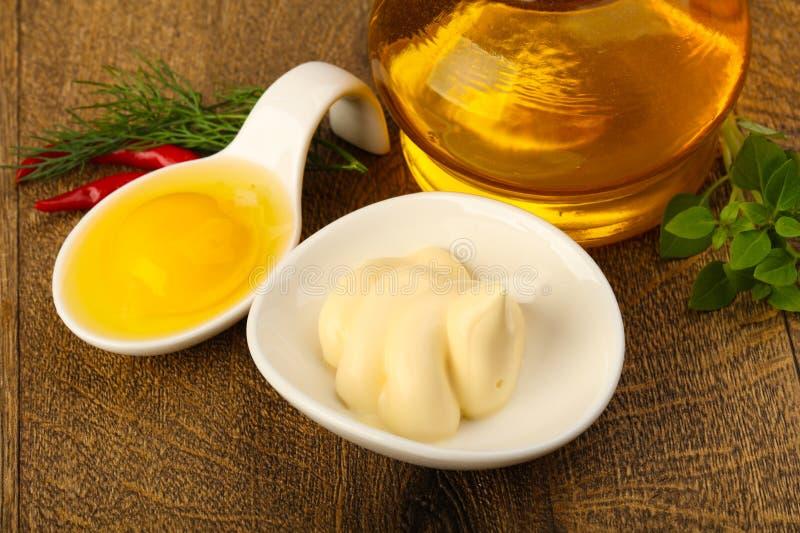 Mayonnaise stock photography