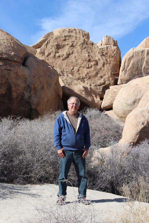 Mayor en Joshua Tree National Park Desert fotografía de archivo