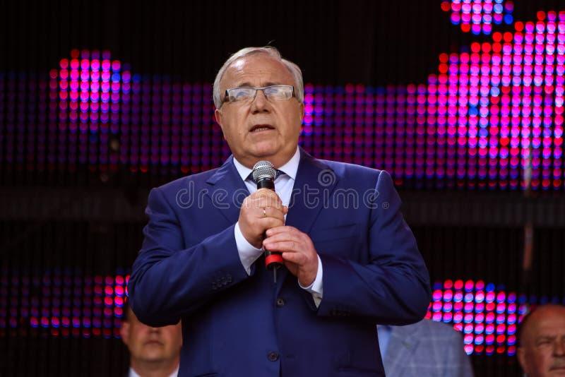 Mayor of Krivoy Rog Yuri Vilkul stock images
