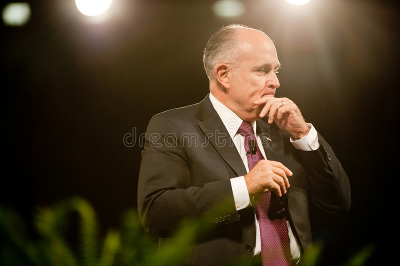 Download Mayor Rudy Giuliani editorial photography. Image of press - 8365842