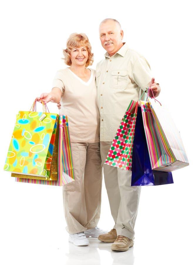 Mayores de las compras foto de archivo libre de regalías