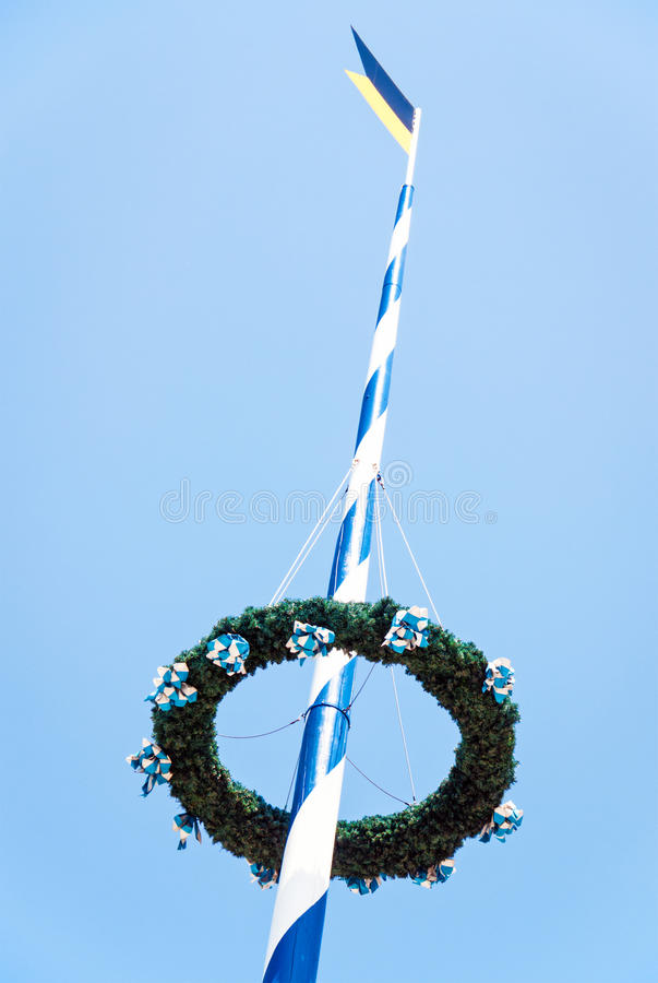 Download Maypole stock image. Image of clear, culture, ceremony - 28518963