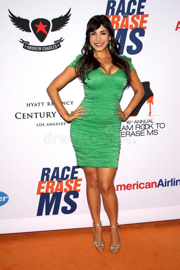 Mayra Veronica At The 19th Annual Race To Erase MS, Century Plaza, Century City, CA 05-19-12 Editorial Photo