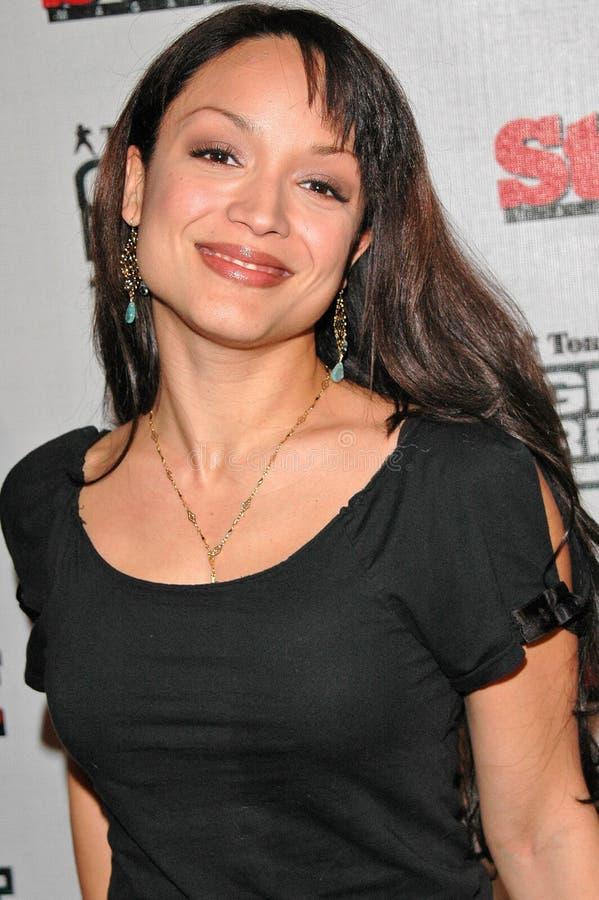 Mayte Garcia, Tom Clancy stock foto