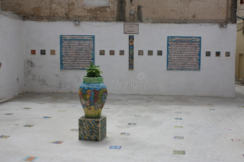 MAZARA DEL VALLO, ΙΤΑΛΙΑ στοκ φωτογραφίες