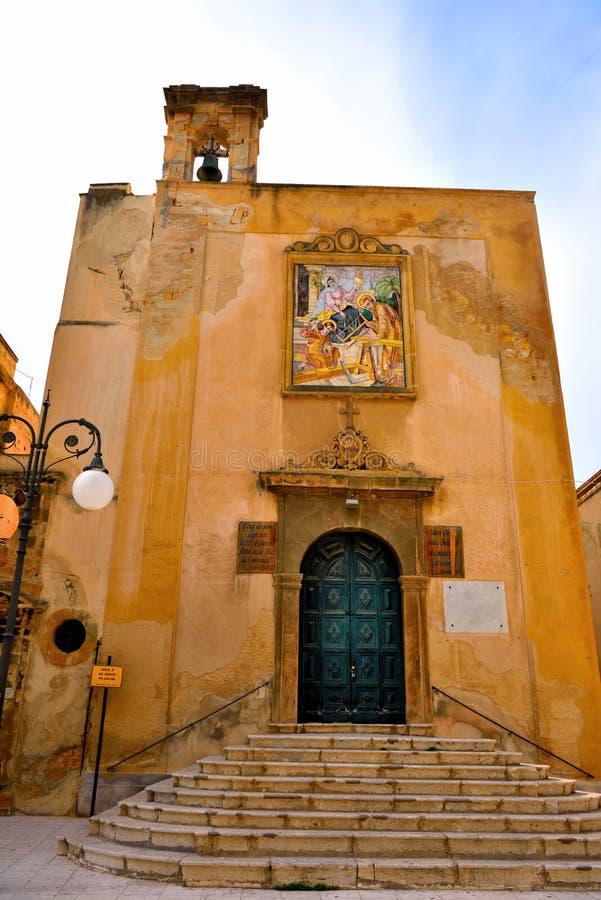 Mazara del vallo sicily itália foto de stock