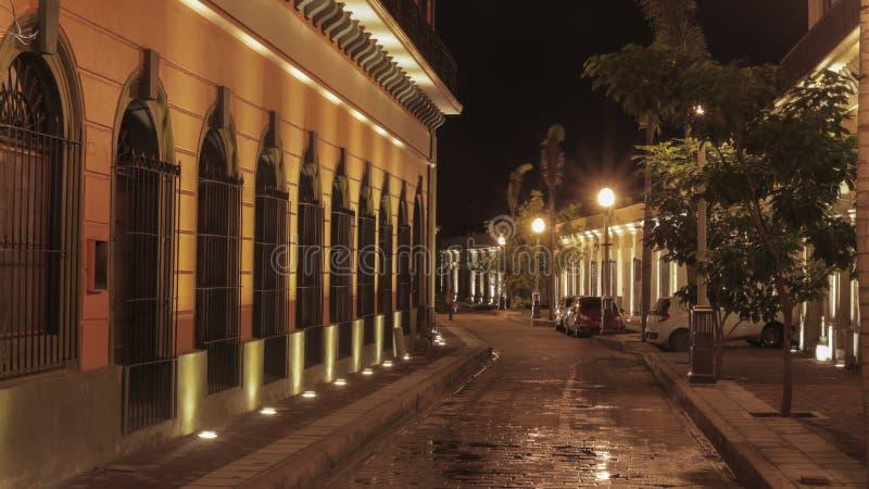Mazatlan-Nachtim stadtzentrum gelegene Sinaloa-Lichter lizenzfreie stockbilder