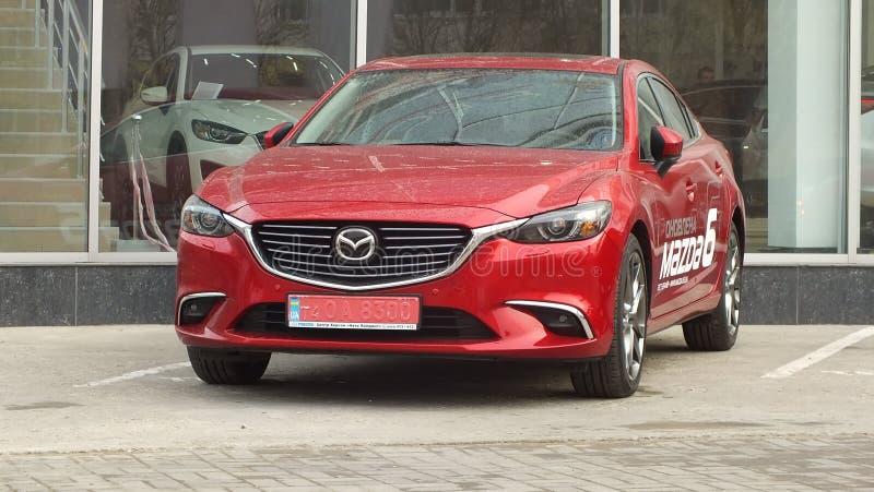 Mazda 6 lizenzfreie stockbilder