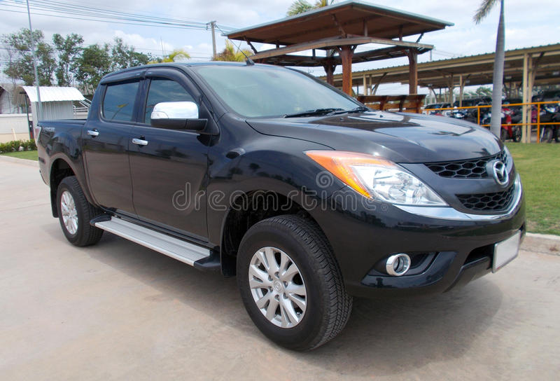 Mazda BT-50 obraz stock
