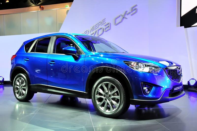Mazda CX5 em IAA Francoforte 2011 imagens de stock royalty free