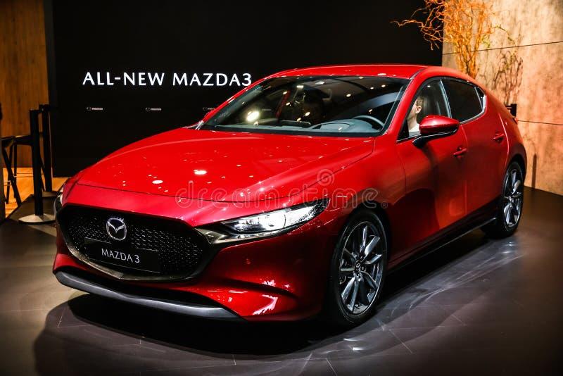Mazda 3 imagen de archivo libre de regalías