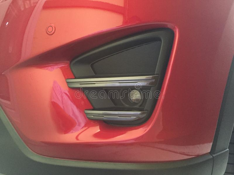 Mazda CX5. Mazda grill new styles led royalty free stock images