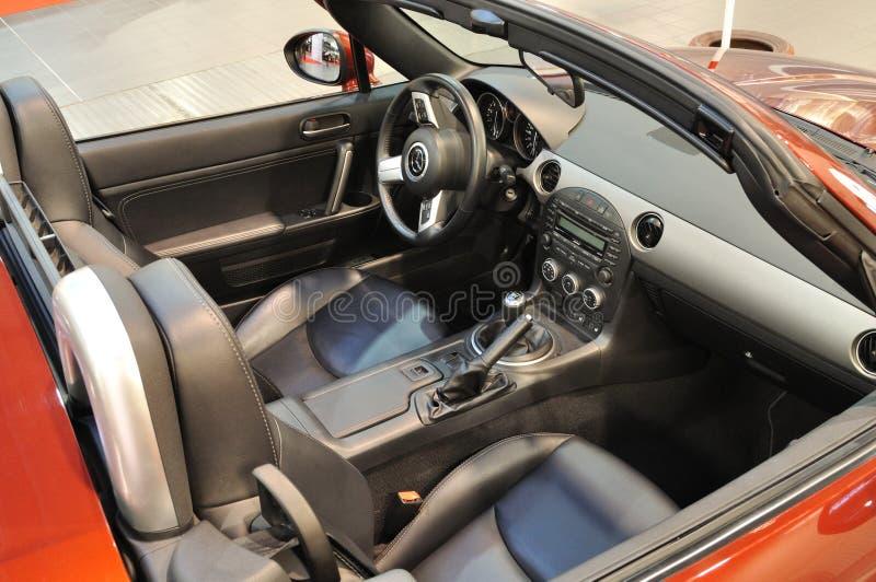 Mazda MX-5 fotografie stock libere da diritti