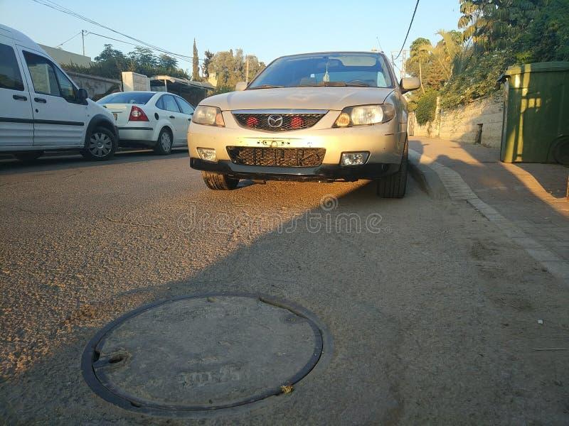 Mazda Protege stockfotografie