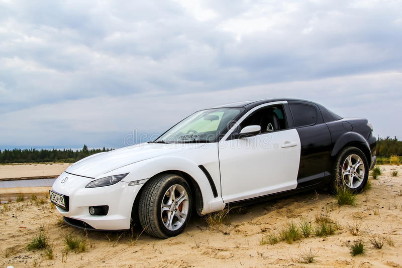 Mazda Rx-8 photos stock