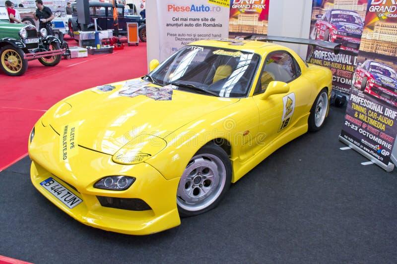 Mazda RX-7 Editorial Image