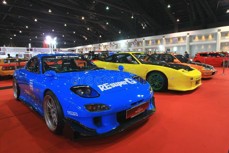 Download Mazda RX7 Sport Car Bangkok Auto Salon Editorial Photography    Image Of Forbidden, Transportation