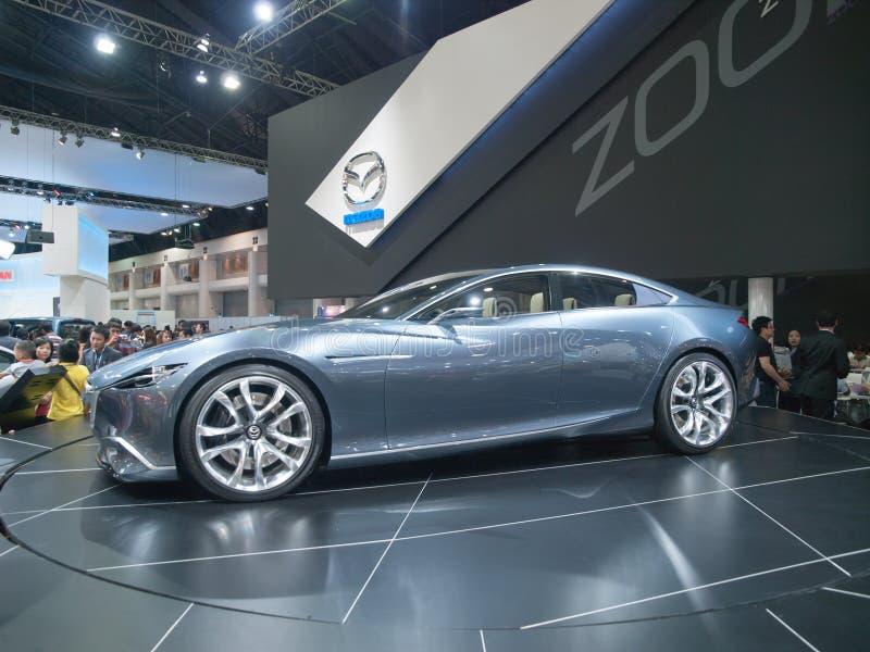 Mazda Shinari begreppsbil royaltyfria bilder