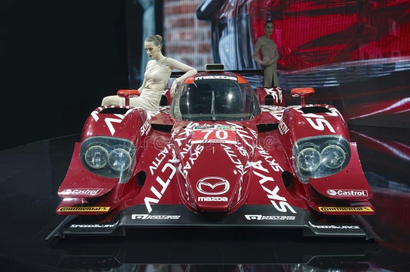 Mazda SKYACTIV-D Prototype stock photo