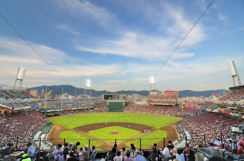 Download Mazda Stadium editorial stock image. Image of twilight - 20806464