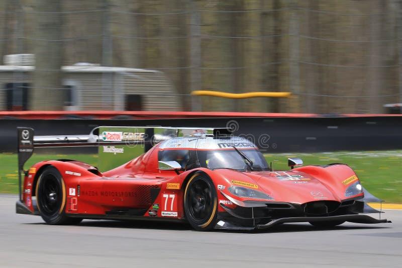 Mazda Team Joest RT24-P DPi fotografia stock libera da diritti
