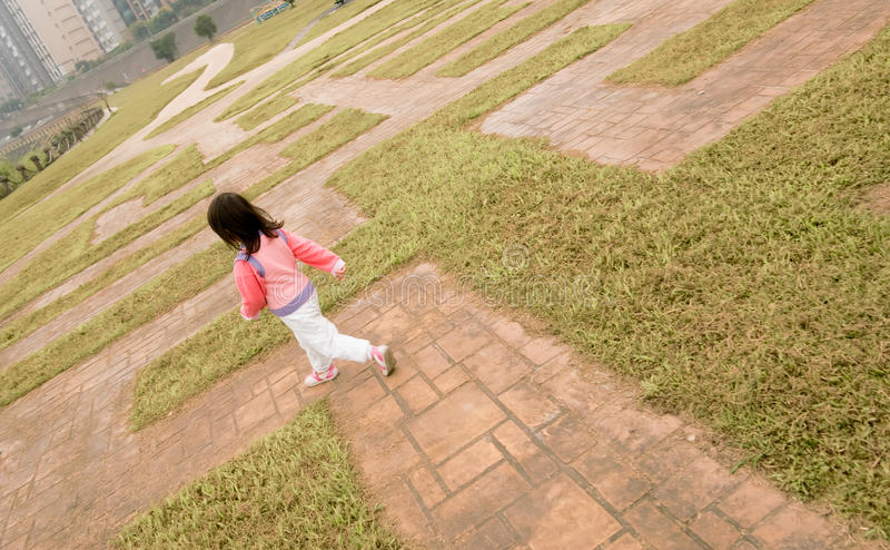 Download Maze stock image. Image of children, outdoor, lovely - 12817219