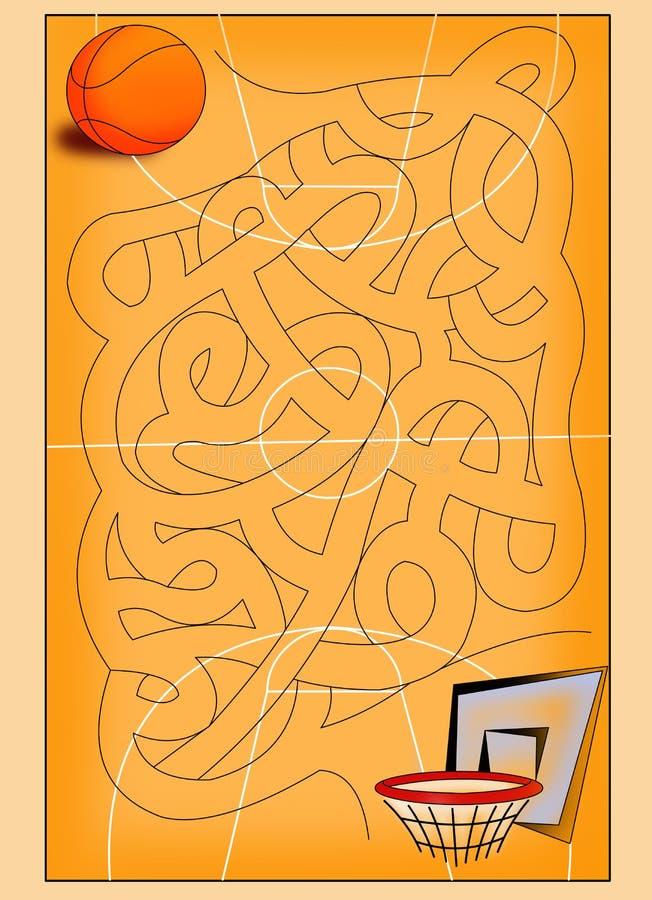 maze 13 stock illustrationer