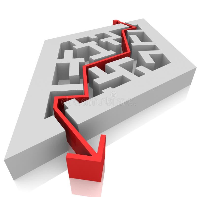Maze vector illustration