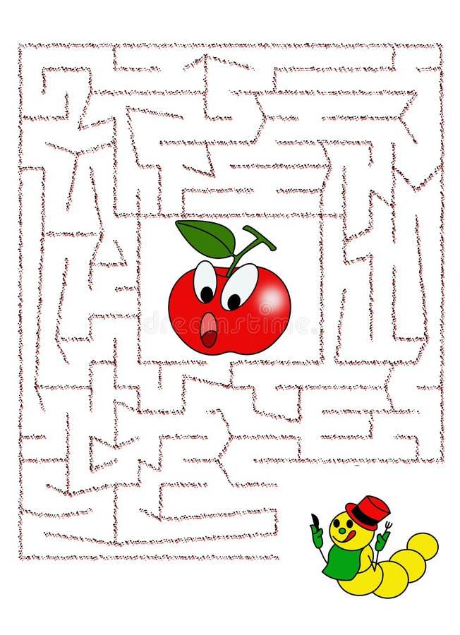 Maze 36 stock illustration