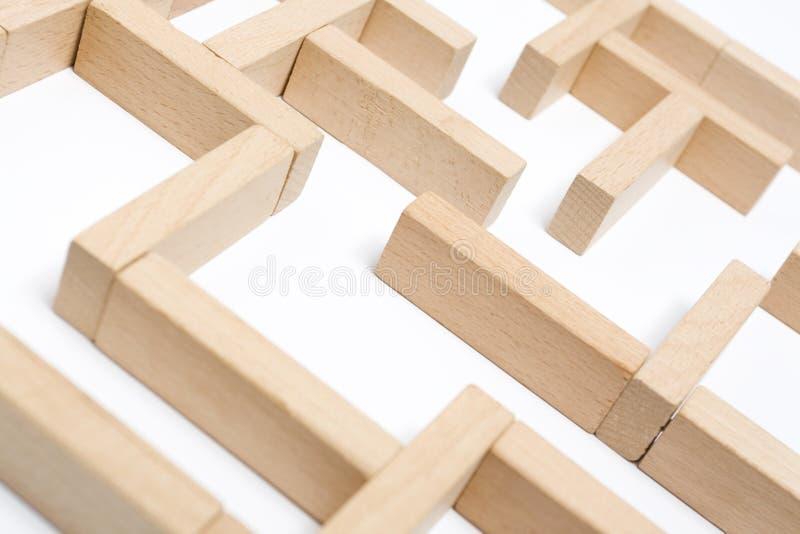 Maze Arkivbild