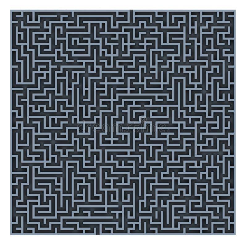 Maze background royalty free stock photos