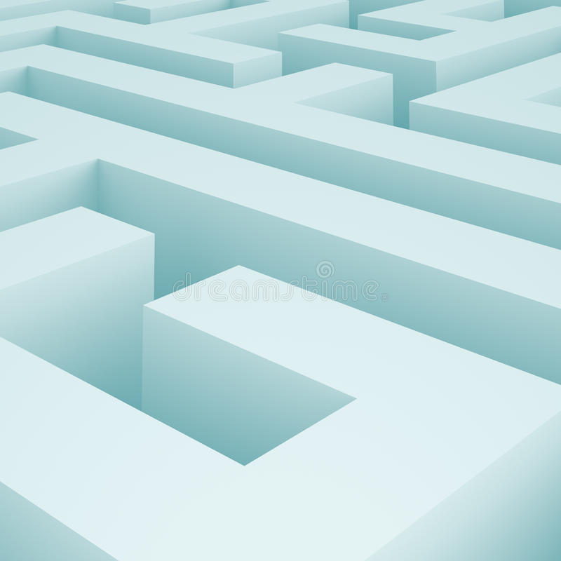Download Maze Background stock illustration. Image of data, background - 16794858
