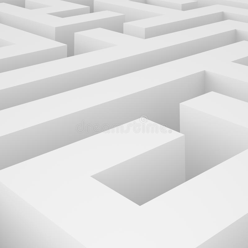 Download Maze Background stock illustration. Illustration of pattern - 17517770