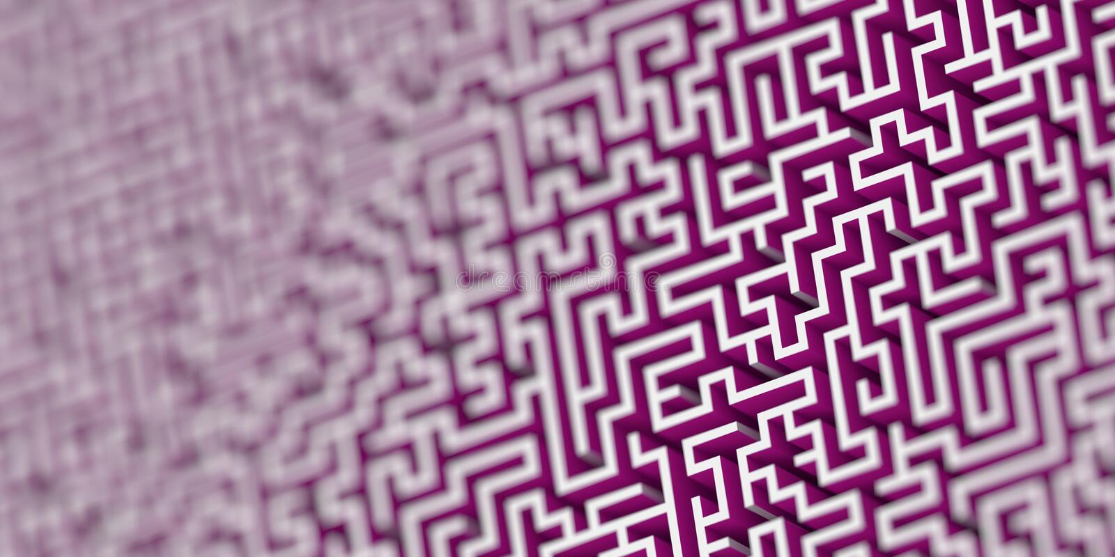 Maze background, risk and solution concepts stock photo