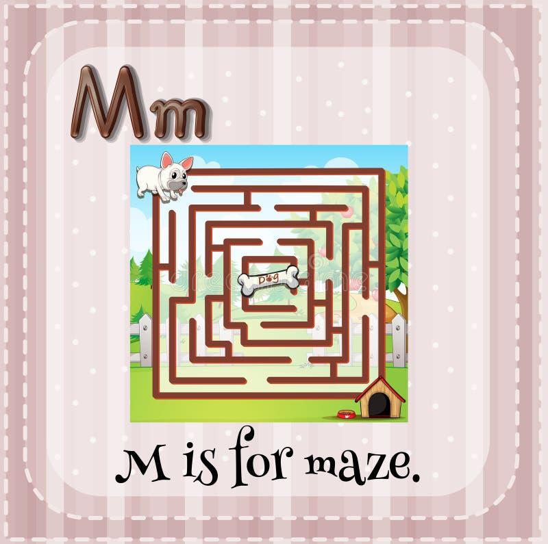 Maze royalty free illustration
